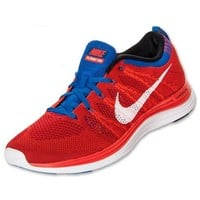 Nike Flyknit Lunar1+ Mens Running Shoes Team Orange/White/Red/Game Royal,cheap Nike Flyknit Lunar1+,New Mens Running Shoes