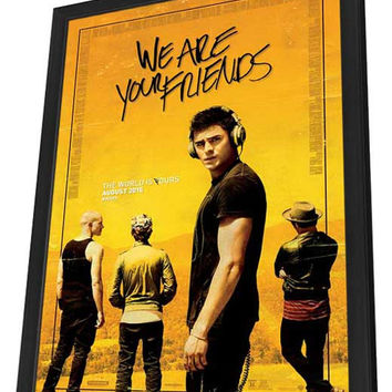 We Are Your Friends 11x17 Framed Movie Poster (2015)