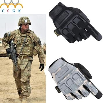 Full Finger army Tactical US military tactic glove Paintball Air Gun Outdoor hunting Shooting de combat gloves taticas luva
