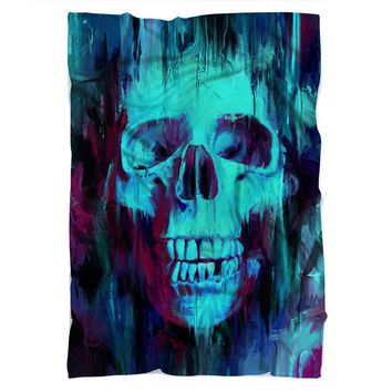 Painted Skull Blanket
