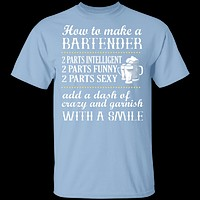 How To Make A Bartender T-Shirt
