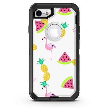 Flaminos Fun and Fruit - iPhone 7 or 8 OtterBox Case & Skin Kits