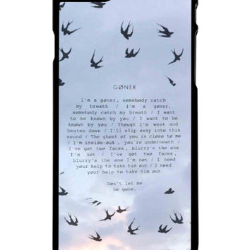 Twenty One Pilots Goner iPhone 6 Plus Case