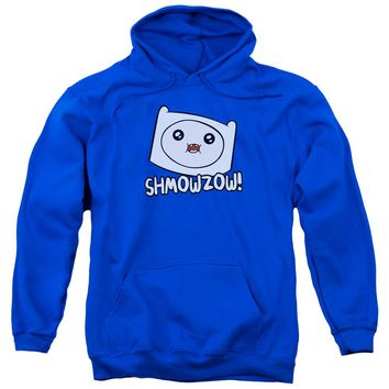 Adventure Time - Shmowzow Adult Pull Over Hoodie