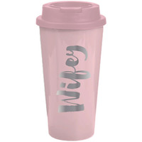 Slant Collections- 16 Oz. Travel Tumbler- Wifey