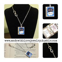 The Fault In Our Stars Book Locket Necklace