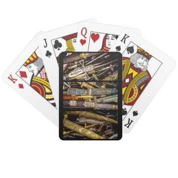 Daggers, Dirks and Sabres Playing Cards