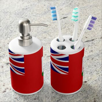 Flag of Bermuda Bathroom Set