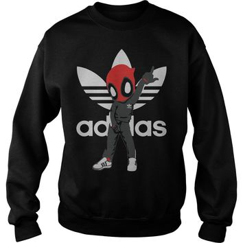 Adidas Deadpool T Shirt Sweatshirt Unisex