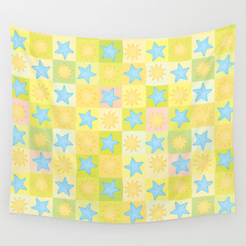 Suns n' Stars Wall Tapestry by All Is One