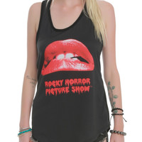 The Rocky Horror Picture Show Logo Girls Tank Top