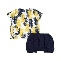 Teela Baby Boys' ABA Pineapple Set