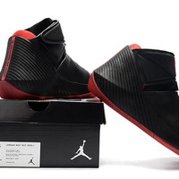 Jordan Why Not Zer0.1 Sport Shoe - Black/Red
