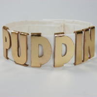 """Harley Quinn Suicide Squad Inspired """"Puddin"""" Choker Necklace Costume Cosplay"""