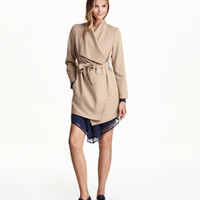 Draped Coat - from H&M
