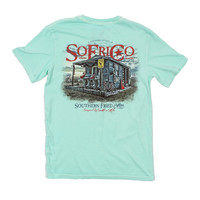 Bait Shack Tee in Julep by Southern Fried Cotton