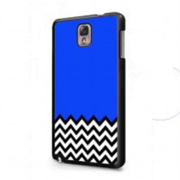Welcome to twin peaks chevron 2 for samsung galaxy note 3 case