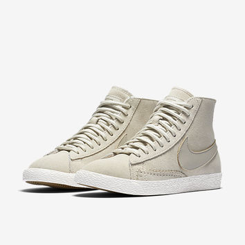 The Nike Blazer Mid Premium Women's Shoe.