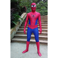 2016 new super cool cosplay Spiderman costume Halloween costumes for kids children adults stage costumes 3D pattern High quality