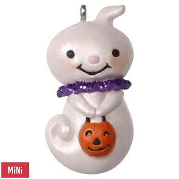 Teensy-Weensy Ghost Mini Halloween Ornament