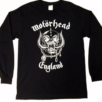 Motorhead WAR PIG Long Sleeve T-Shirt NEW 100% Authentic & Official