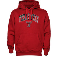 Texas Tech Red Raiders Basic Fleece Hoodie - Scarlet
