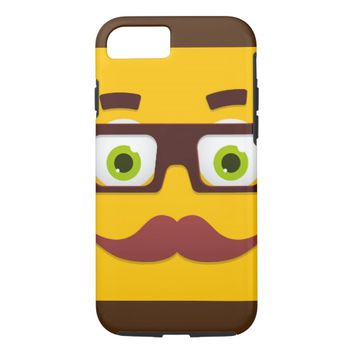Funny Face iPhone 7 Case