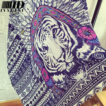 180*100  2016 Fashion Popular Design Wraps Tiger Print Lady Long Cotton Scarf Women Winter Warm Scarves Indian Shawl Hijab Scarf