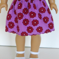 18 inch Doll Clothes American Girl Corduroy Skirt