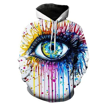 The Beautiful Eye Trippy Hoodie