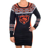 Chicago Bears Official NFL Sweater Dress by Klew