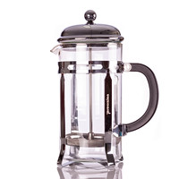 French Press Coffee, Espresso and Tea Maker 20 Ounce 5 Cup Pot, Chrome