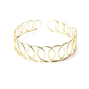 Rond collar necklace
