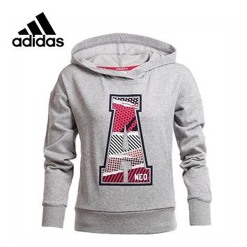 Official Adidas NEO Label Women's Pullover Hoodies Sportswear