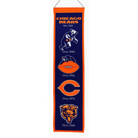 Chicago Bears NFL Heritage Banner (8x32)
