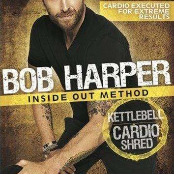 GoFit Bob Harper Inside Out Method – KettleBell Cardio Shred Workout Cardio Fitness, Maximum Fat Burn, by GoFit