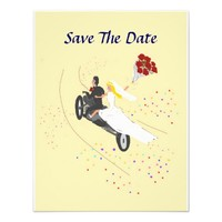 Biker Wedding Save The Date