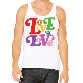 Love Is Love Pride Unisex Tank