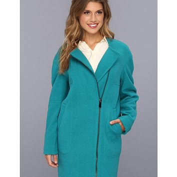 Vince Camuto Flannel Topper Coat