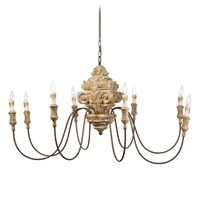 Regina Andrew Carved Wood Chandelier | Nordstrom
