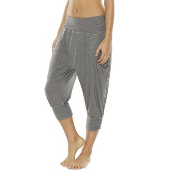 Gaiam Studio to Street Flow Yoga Harem Capris