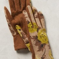 Rosette Wool Gloves by Anthropologie