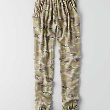 Don't Ask Why Soft Jogger Pant , Traditional Camo