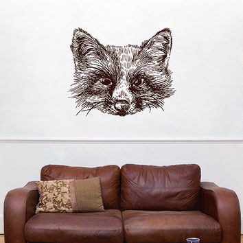 ik2941 Wall Decal Sticker animal fox living room bedroom