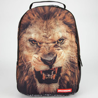 Sprayground Lion Velvet Backpack Brown Combo One Size For Men 24227444901