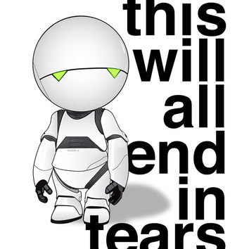 """This Will All End in Tears"" Variant - by Linda Hordijk $50.00"