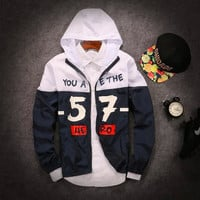 Stylish Casual Couple Hats Coat Jacket [6544702403]