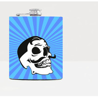 Skull hip flask - Gift for him - Hip flask - Gift for men - Hip flasks