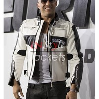 Vin Diesel White Fast Furious 7 Jacket | Instyle Jackets
