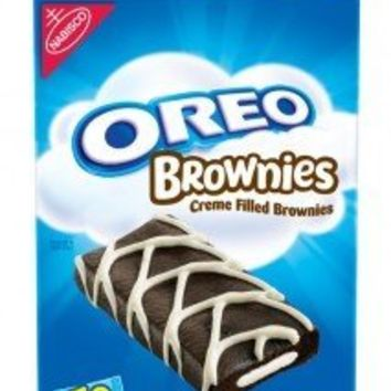 Nabisco Oreo Brownies, 10-1.5 oz Brownies Per Box (Pack of 3)